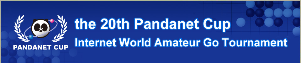 the 20th Pandanet Cup Internet World Amateur Go Tournament concurrently