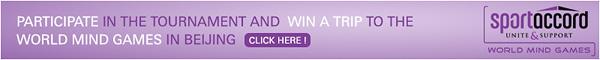 2013 SportAccord-Pandanet Cup Online Go Tournament