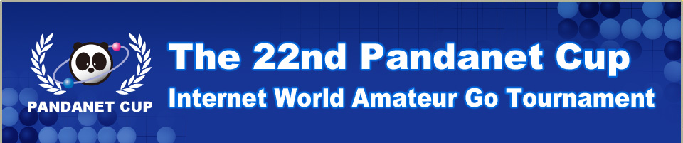 The 22nd Pandanet Cup Internet World Amateur Go Tournament concurrently